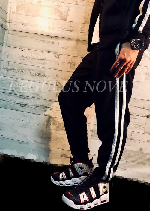 REGULUS NOVE SETUP対応裏ボアルーズタイプラインパンツ メンズ SETUP セットアップ スウェット ボア モコモコ 冬 ルームウェア パンツ ボトム ジョガーパンツ