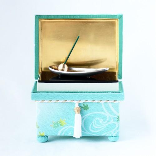 季(とき)の箱 「流水と楓」