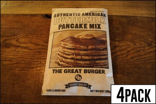 THE GREAT BURGER BUTTERMILK PANCAKE MIX【 パンケーキミックス200g×4袋セット 】