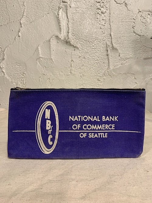 "BANK BAG "" NATIONAL BANK OF COMMERCE """