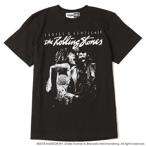 THE ROLLING STONES STUDIO RUDE S/S TEE 3 / RUDE GALLERY