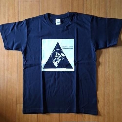 グランジ・ソウルTシャツ/サイズ:S カラー:ネイビー