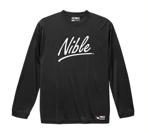 "Nible Heavy Weight Long Sleeve Shirt  ""Hand Writing"""