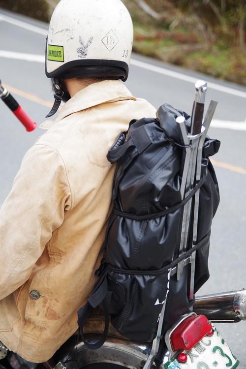 Free Hooker Black Smith ブラックスミス フリーフッカー シーシーバー,リアフェンダーなどへキャンプ時などの荷物の固定に最適!荷掛け用ゴムロープ