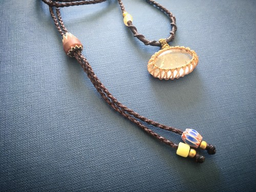 Garden Quartz Macrame Necklace