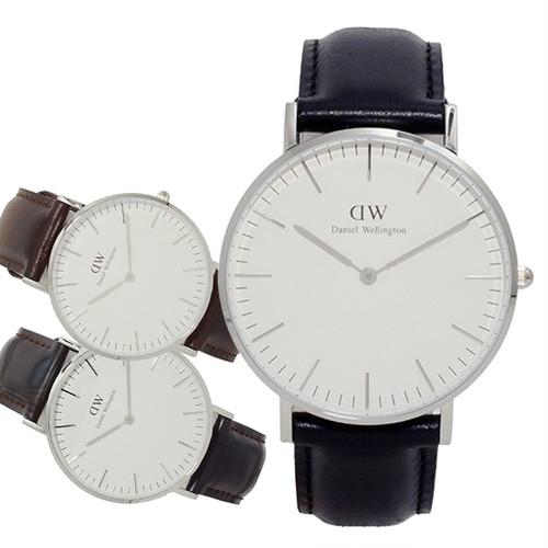 ダニエル ウェリントン シェフィールド 36 クオーツ ユニセックス 腕時計 0608DW (DW00100053) ホワイト