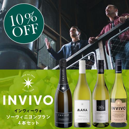 INVIVO Sauvignon Blanc 4 Pieces Set / インヴィーヴォ ソーヴィニヨンブラン4本セット