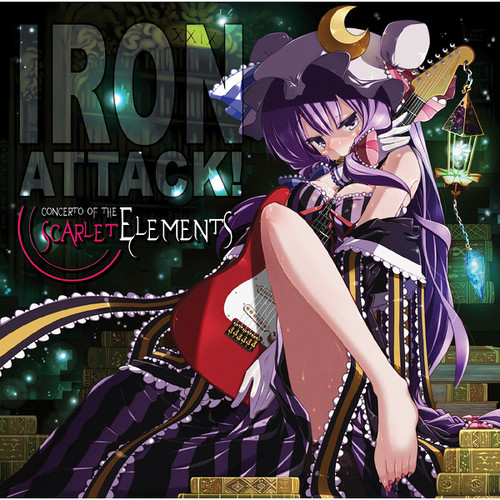 IRON ATTACK!/Concerto of the Scarlet Elements(MIA022)