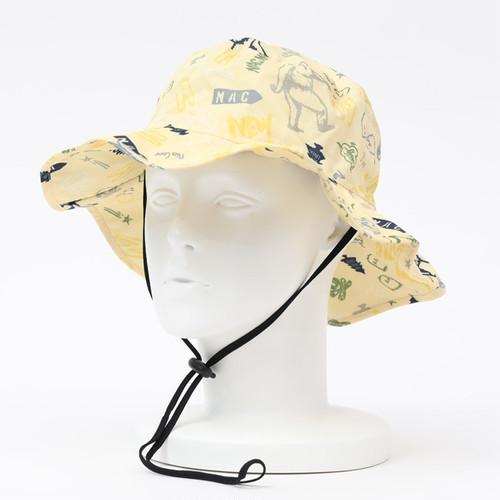[KiU×NAC]SAFARI HAT / YELLOW