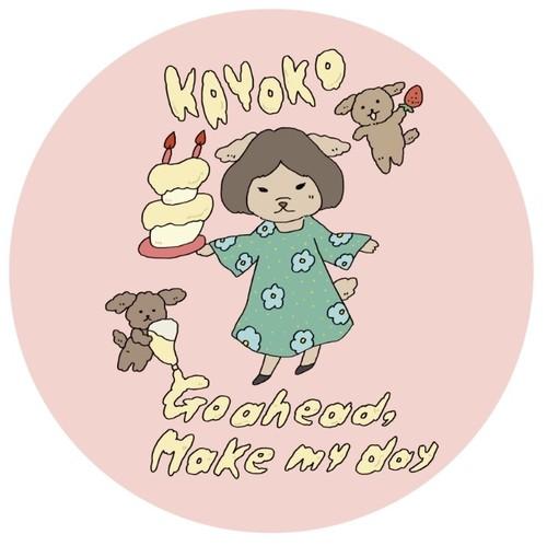 【GOODS】Kayoko Birthday Can Badge