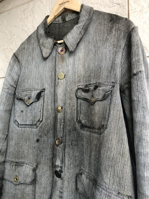 1940s French hunting jacket