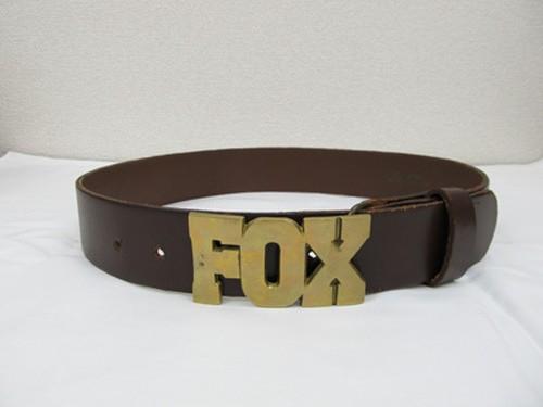 USED レザーベルト FOX