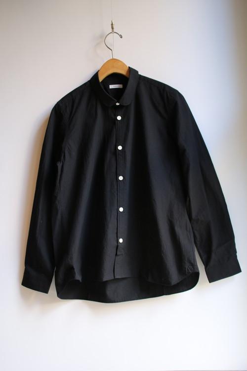 susuri(ススリ)サージョンシャツ BLACK