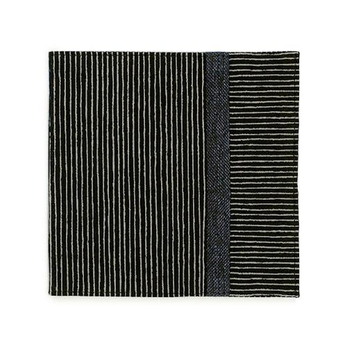コースター 筋小紋 黒 [007-00196-002]