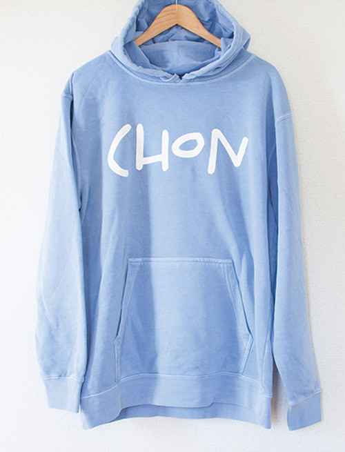 【CHON】Palm Tree Hoodie (Light Blue)