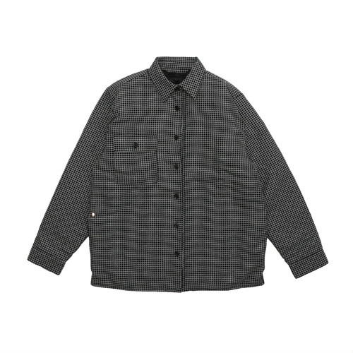 BLESS Woodhacker Shirt GRID(BLACK/WHITE)