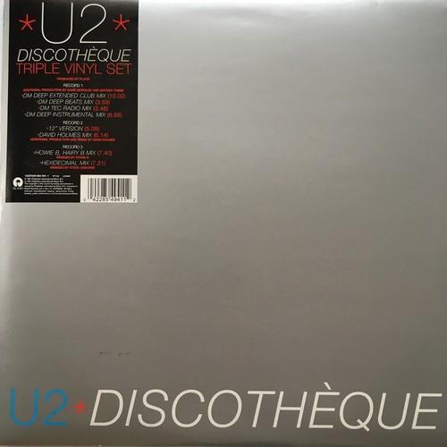 【12inch x 3・英盤】U2 / Discothèque Triple Vinyl Set