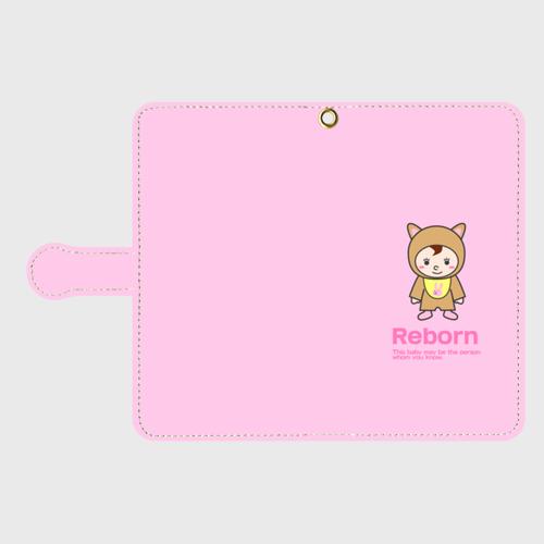 Reborn Android Mサイズ 手帳型スマホケース