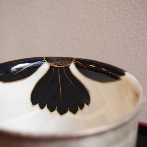 京焼 フリーカップ 撫子 黒