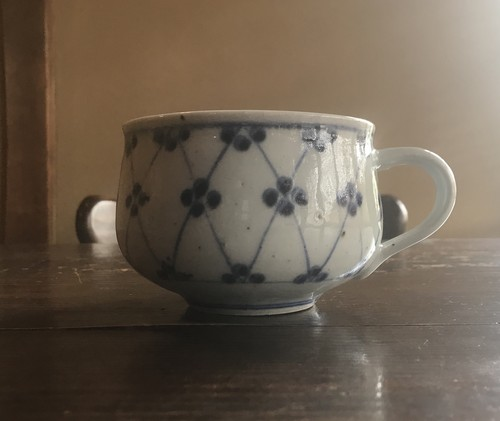 砥部焼 皐月窯 スープカップ