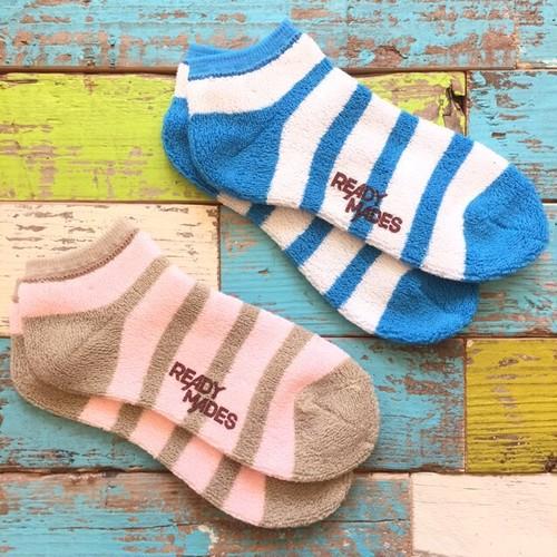 ready mades border short socks 22~24cm(50%off)