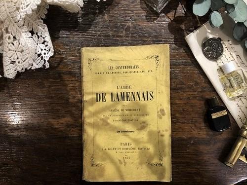 【PV164】DE LAMENNAIS / display book