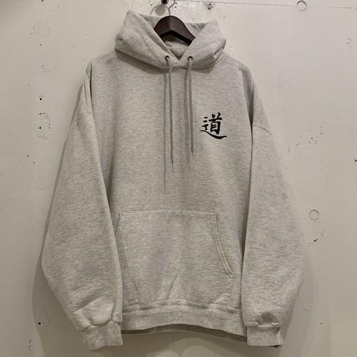 "90's〜 Print Sweat Hoodie ""太極拳"""
