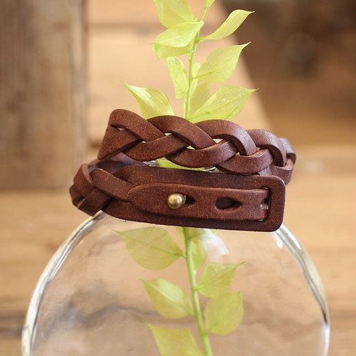 MitsuAmi Bracelet / D BROWN (プエブロ)