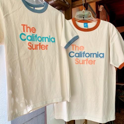 "BO SPORT 半袖リンガーTシャツ ""Thr California Surfer"""
