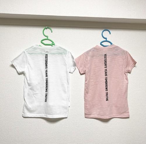 SALE☆KIDS バックプリントTシャツ