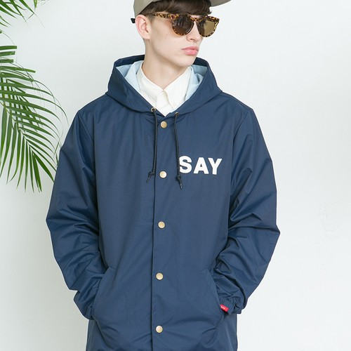 "SAY! / セイ!| "" WINDBREAKER JKT "" - Navy"