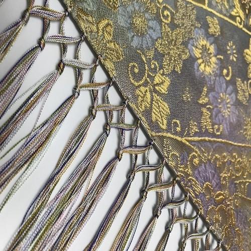 テーブルランナーTS0123西陣織り&ローケツ染めロングサイズ