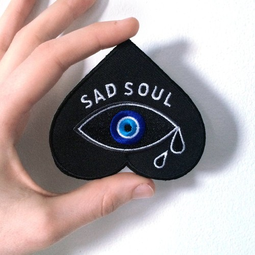 LIFE CLUB'Sad Soul' Patch