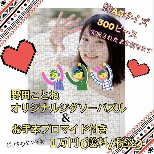 野田ことねのBIGパズル(サイン入り/10000円)※送料500円