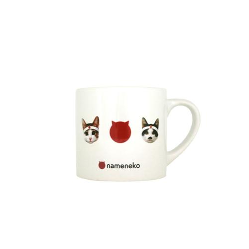 ミニマグカップ 3連なめ猫