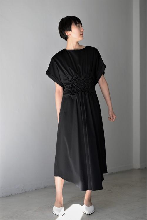 Create Clair / Smocking cut onepiece (black)