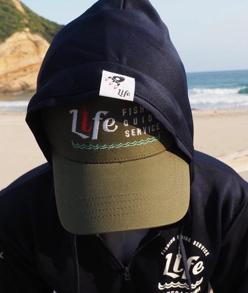 LIFE FISHING GUIDE SERVICE  ORIGINAL DRY ZIP UP PARKA カラー:ブラック