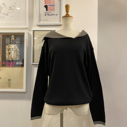 LAUTREAMONT wool knit tops