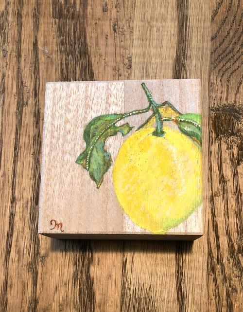 檸檬の小箱 桐箱のギフトボックス