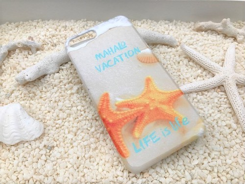 LIFE is MAHALO VACATIONスマホケース 各iPhone Plus、Android L用