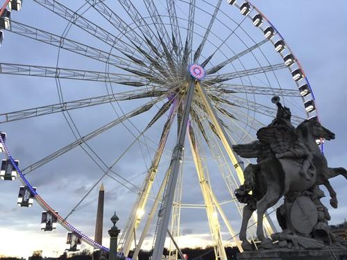 コンコルド広場と観覧車