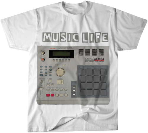MUSIC LIFE T-Shirt MPC (White)