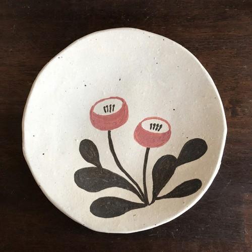 小皿(草花)