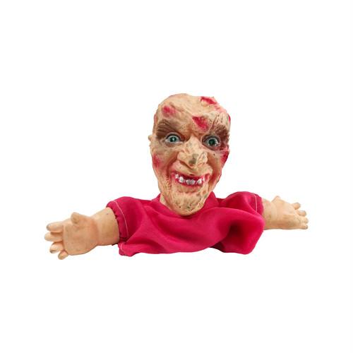 Freddy Krueger Hand Puppet bootleg soft vinyl Doll