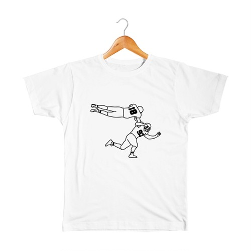 アメフト #7 キッズTシャツ