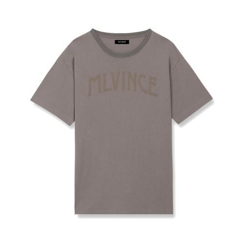 MLVINCE Arch Logo T-Shirts GREY