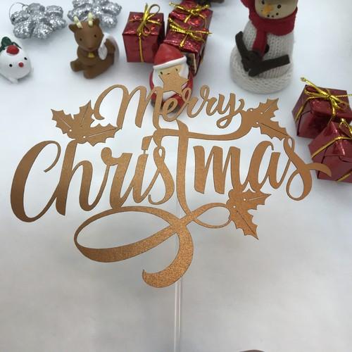 クリスマストッパー01‐Christmas topper-