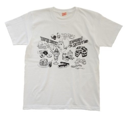 """""""SWEETS"""" T-shirt WHITE"""