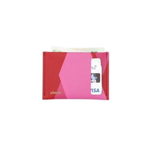 planar Card Case S -Pink Tones-