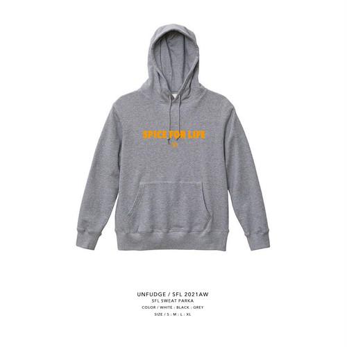 unfudge SWEAT PARKA / SFL / GREY(予約商品)